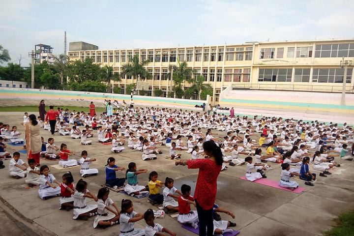 Rattan Convent School-Yoga Day