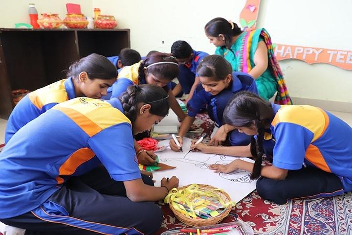 Rawal Bal Shiksha Kendra-Art and Craft