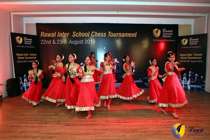 Rawal Convent School-Group Dance