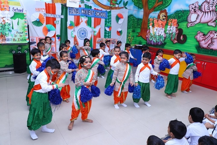 Rawal Convent School-Independence Day