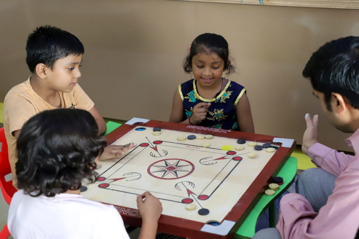 Rawal Convent School-Indoor games