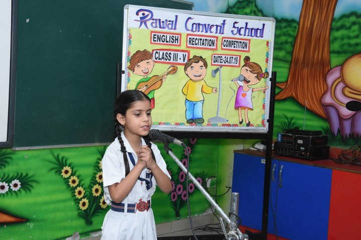 Rawal Convent School-Story telling