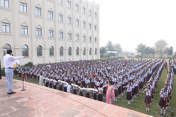 Rawal International School-Assembly