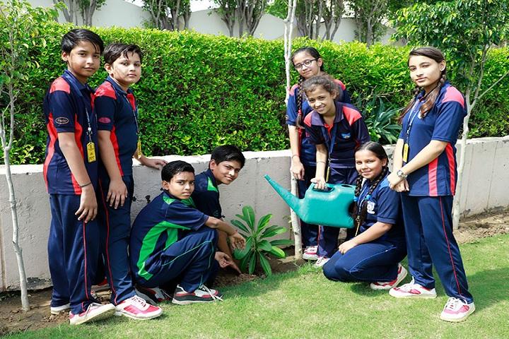 Rawal International School-Plantation Activity