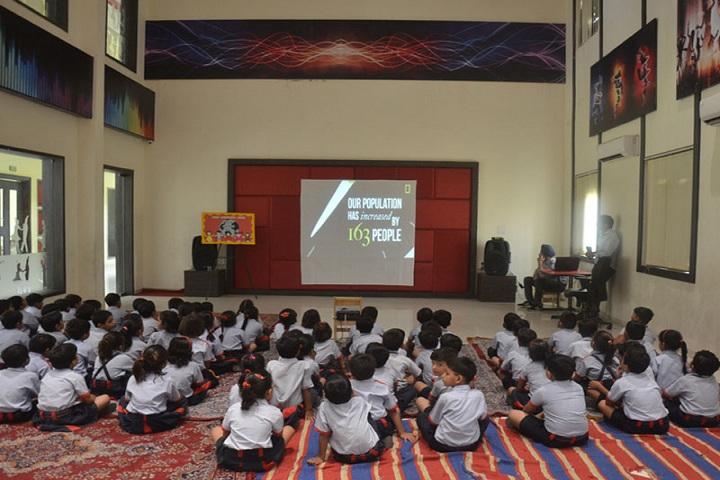 Rawal International School-Projector room