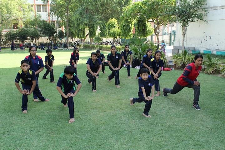 Rawal Public School-Yoga Day