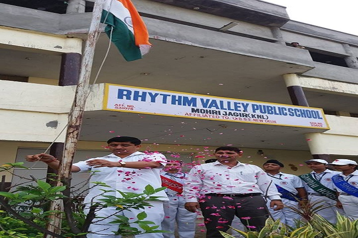 Rhythm Valley Public School-Flag Hosting