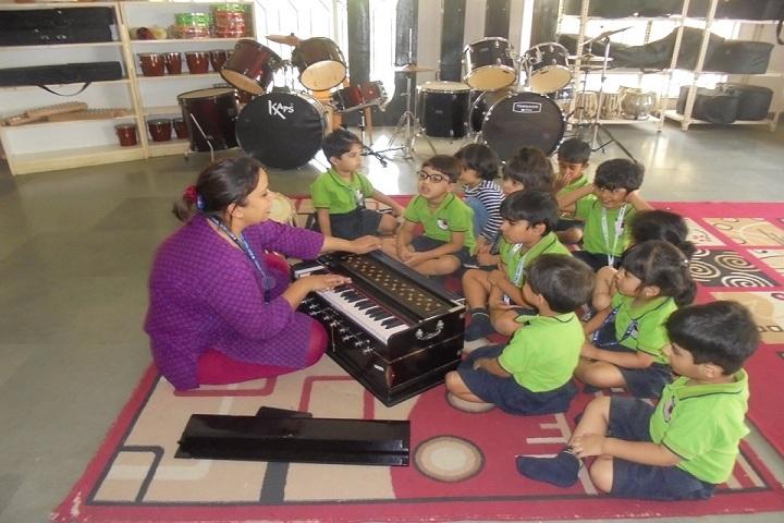 Ridge Valley School-Music Room