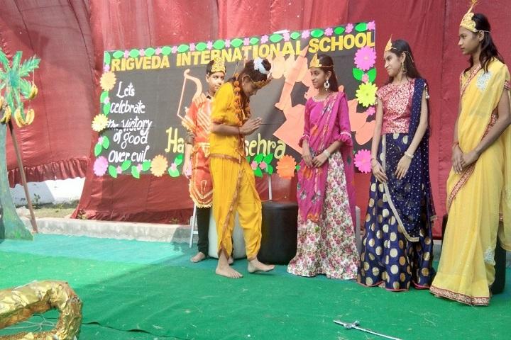 Rigveda International School-Dassehra Celebration