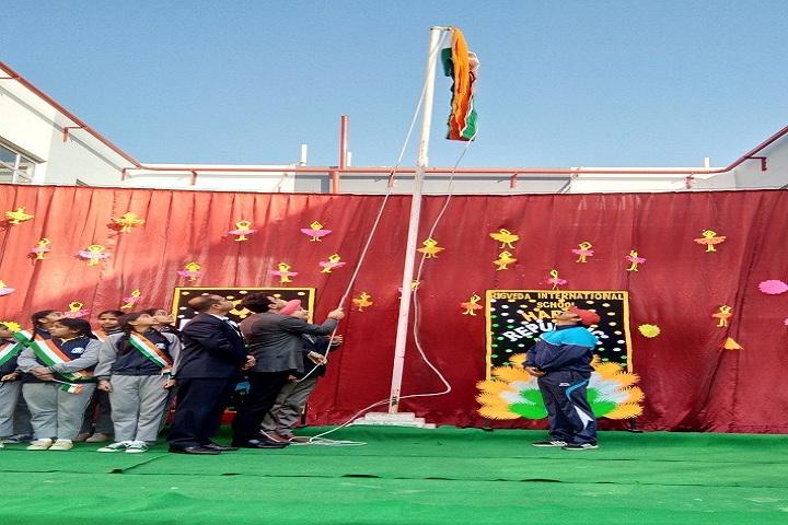 Rigveda International School-Flag Hosting