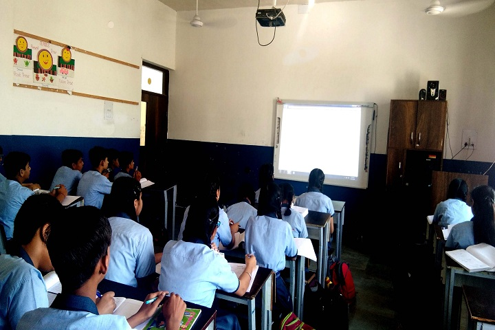 Rigveda International School-Modern Classroom