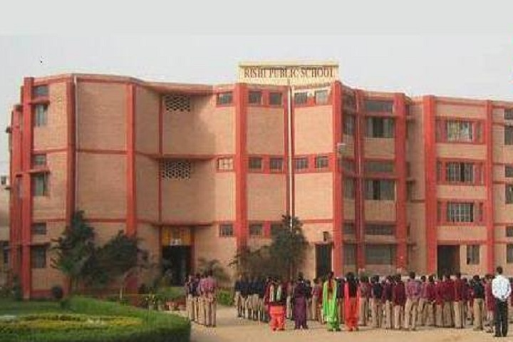 Rishi Public School-Campus View