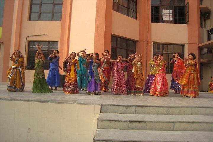 Rishi Public School-Group Dance