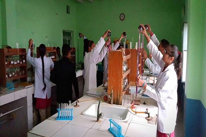 Rishikul Arya Public School-Chemistry Lab