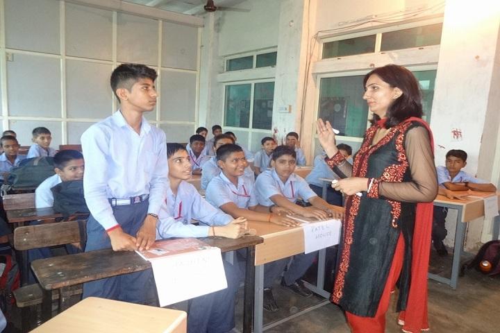 Rishikul Arya Public School-Classroom