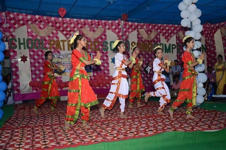 Rishikul Arya Public School-Group Dance