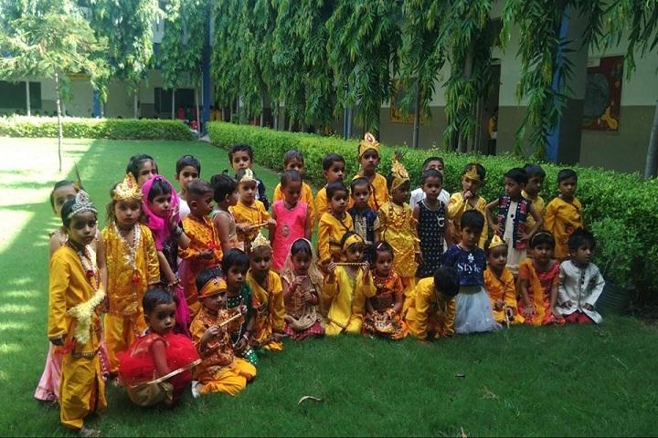 Rishikul Senior Secondary School-Festival Celebration