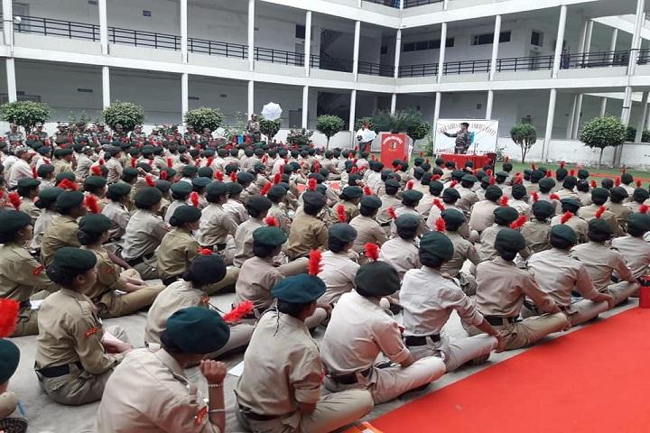 Rishikul Senior Secondary School-NCC