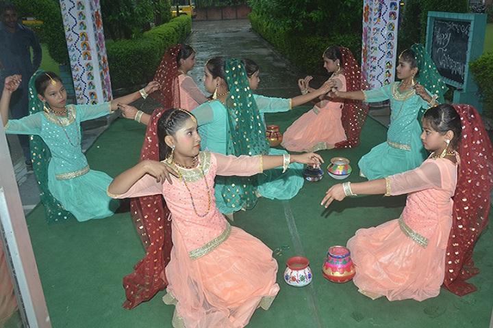 Rishikul Senior Secondary School-Group Dance