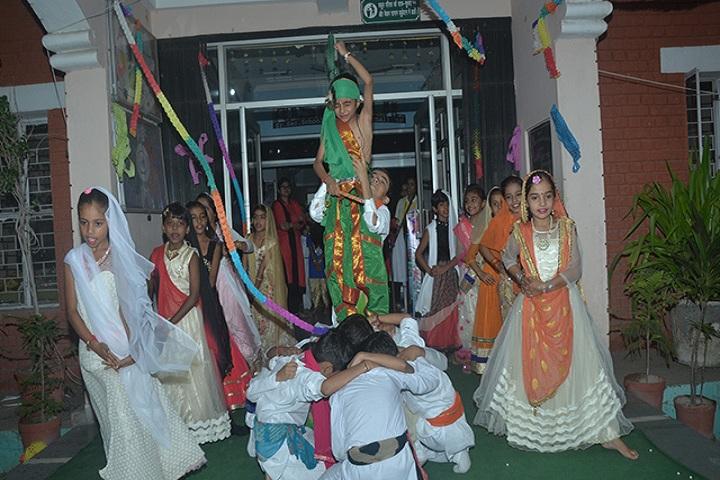 Rishikul Senior Secondary School-Jamashtami Celebrations
