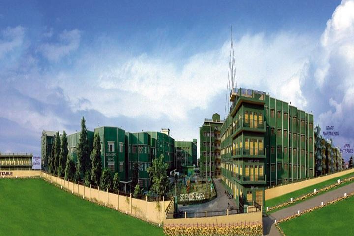 Rishikul Vidyapeeth-School Building