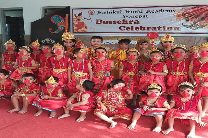 Rishikul World Academy-Festival Celebration