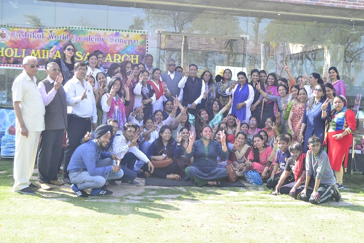 Rishikul World Academy-Holi Celebration
