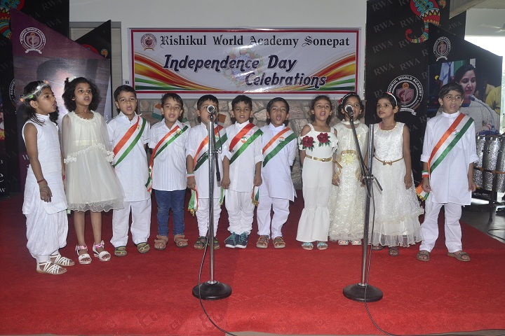 Rishikul World Academy-Independence Day