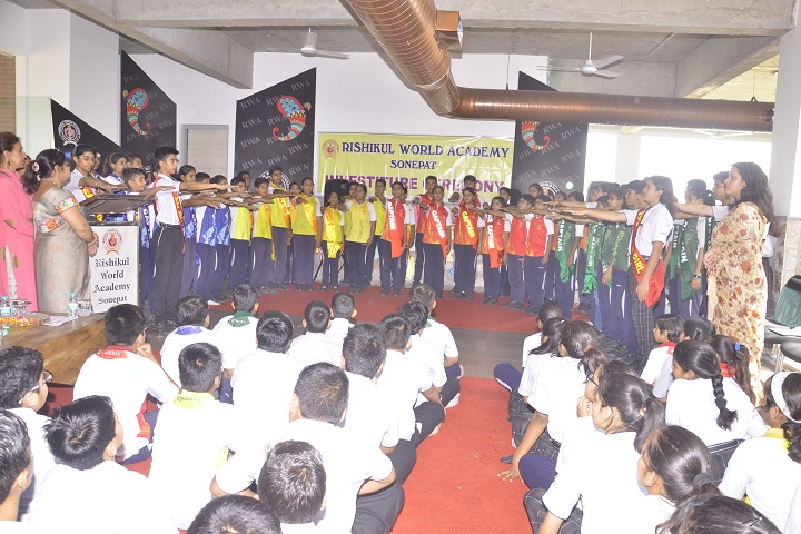 Rishikul World Academy-Institution Ceremony