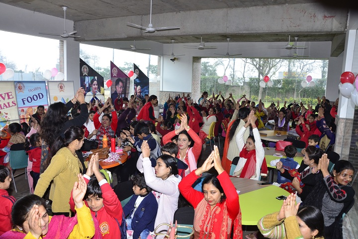 Rishikul World Academy-Mother Activity