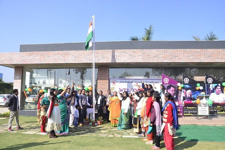 Rishikul World Academy-Republic Day Celebration