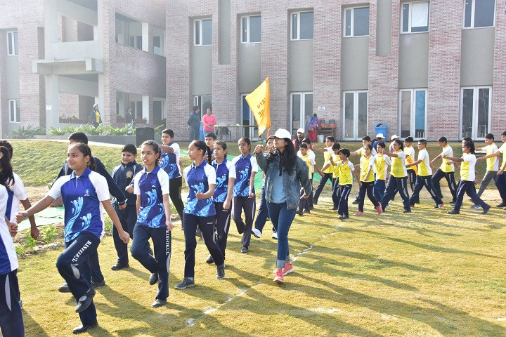Rishikul World Academy-Sports Day