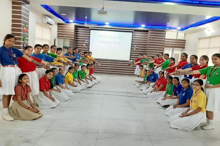 Rose Land Public School-Rangoli Competition