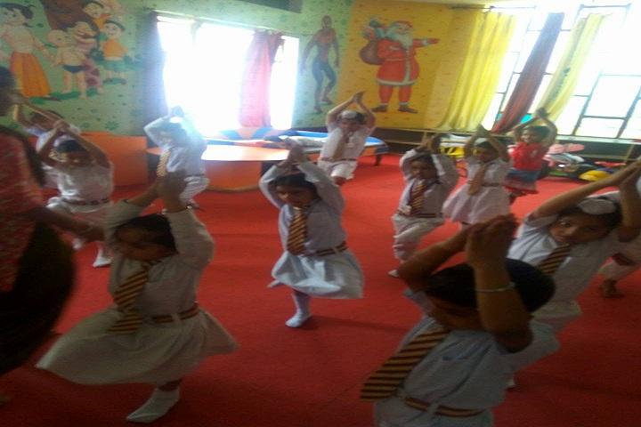 Royal Public School-Yoga Class
