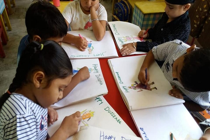 S A Jain Senior Model School-Drawing Competition