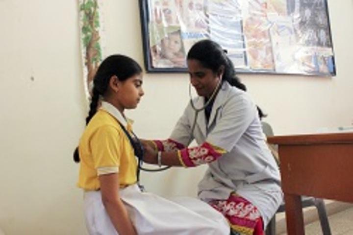 S D Adarsh Vidyalaya-Medical Room