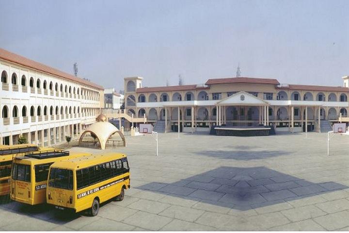 S D Model Senior Secondary School-School building