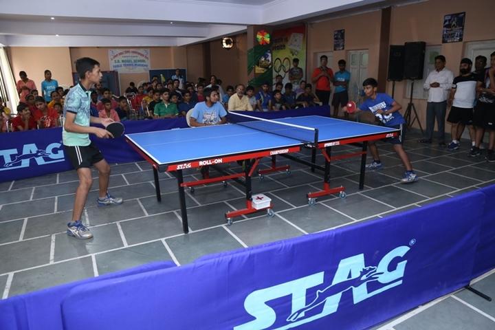 S D Model Senior Secondary School-Indoor Games