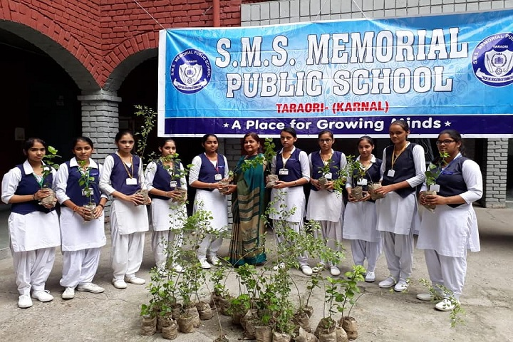 S M S Memorial Public School-Plant A Tree Program
