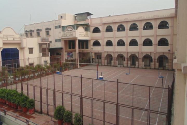 S R Century Public School-School Building