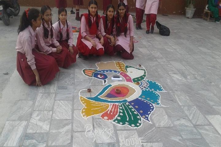 S Karam Singh Grewal Public School-Rangoli Competition