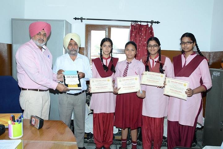 S Karam Singh Grewal Public School-School Toppers