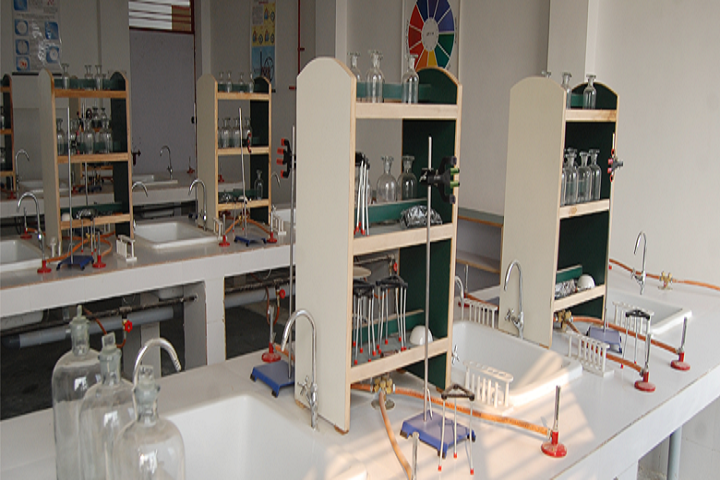 S V International School-Chemistry Lab