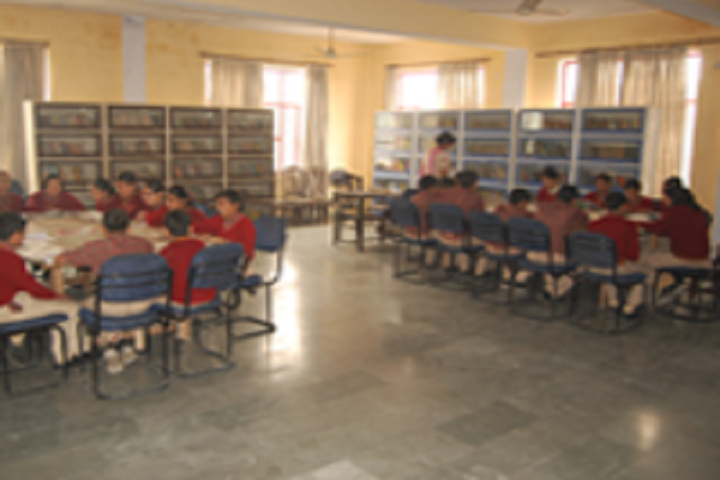 S V International School-Library