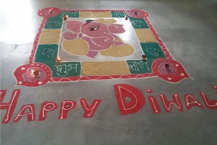 S B Model School-Diwali Celebrations