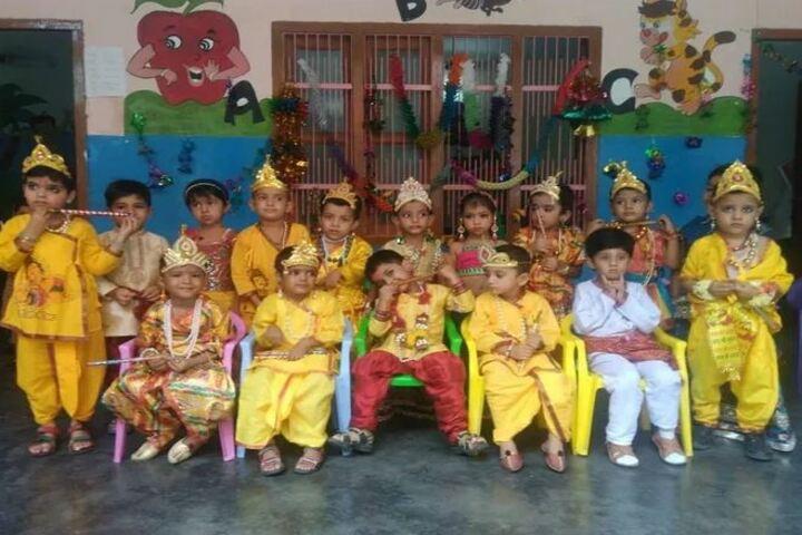 S B Model School-Krishnastami Celebrations