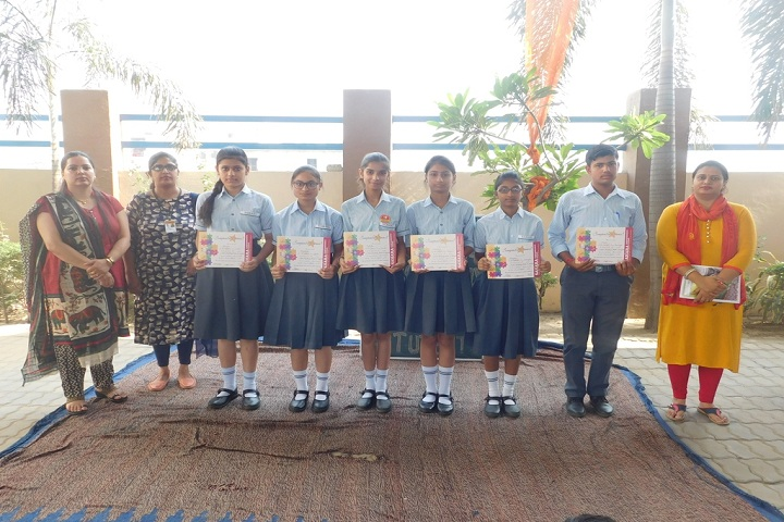 Sahara Comprehensive School- Felicitation Of Students