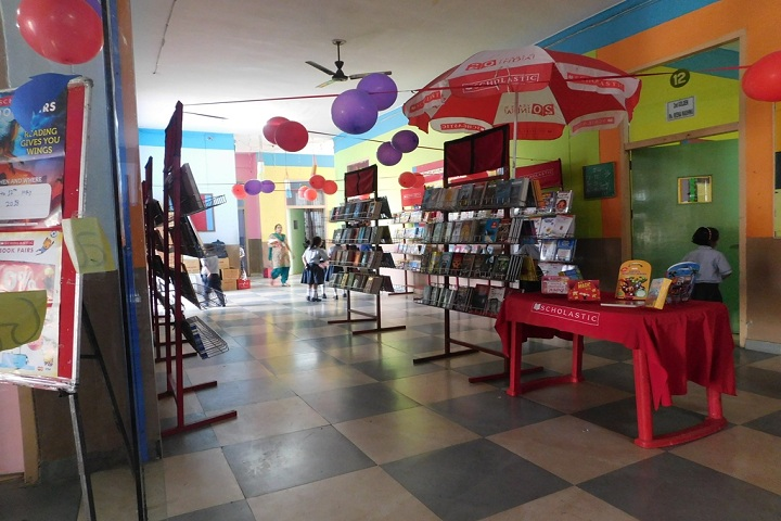 Sahara Comprehensive School-Book Fair