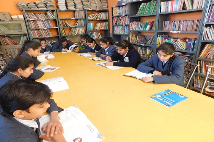 Sahara Comprehensive School-Library