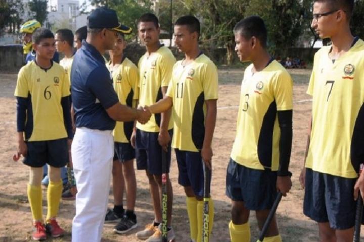 Sainik School-Hocky Match
